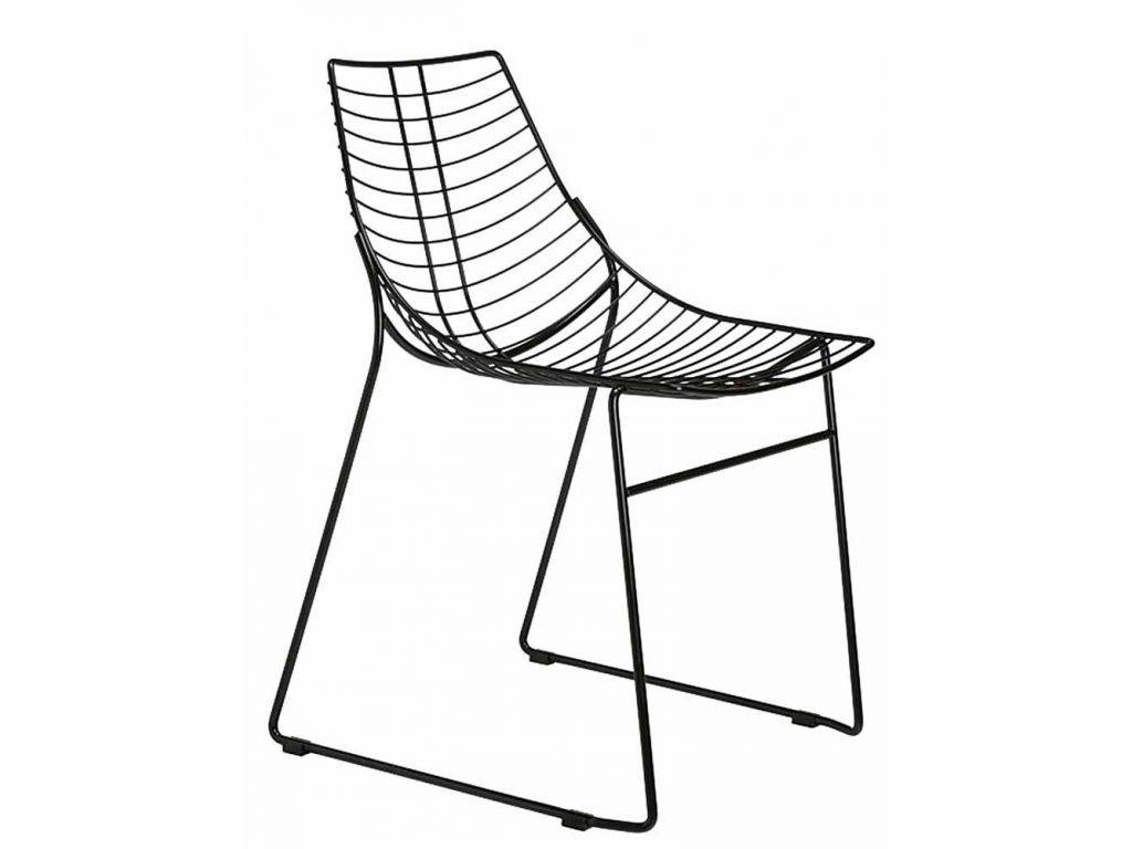 Metal Chair With A Sled Frame Net
