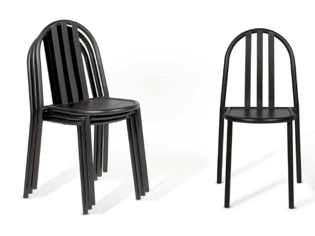 Mallet Stevens Chair In Lacquered Metal