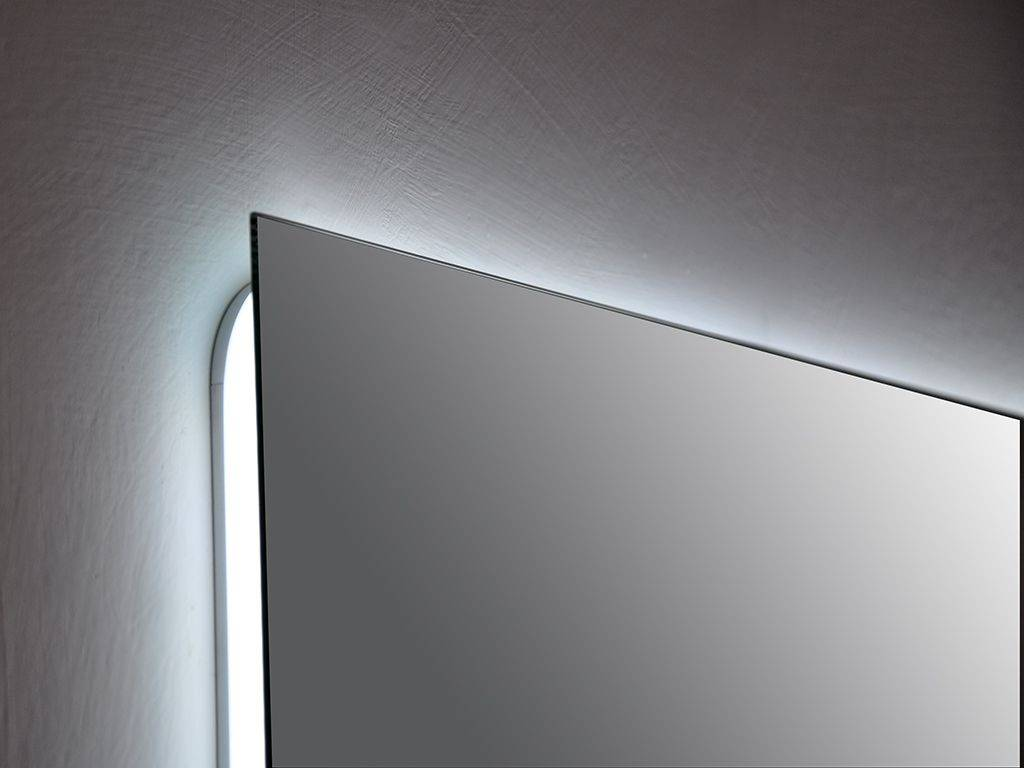 Rectangular mirror with led Alfa