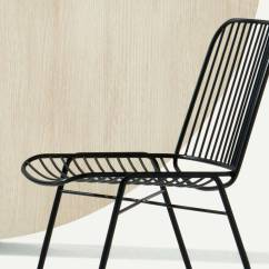 Steel Chair Specification Patio Dining Cushions Design Metal Shade