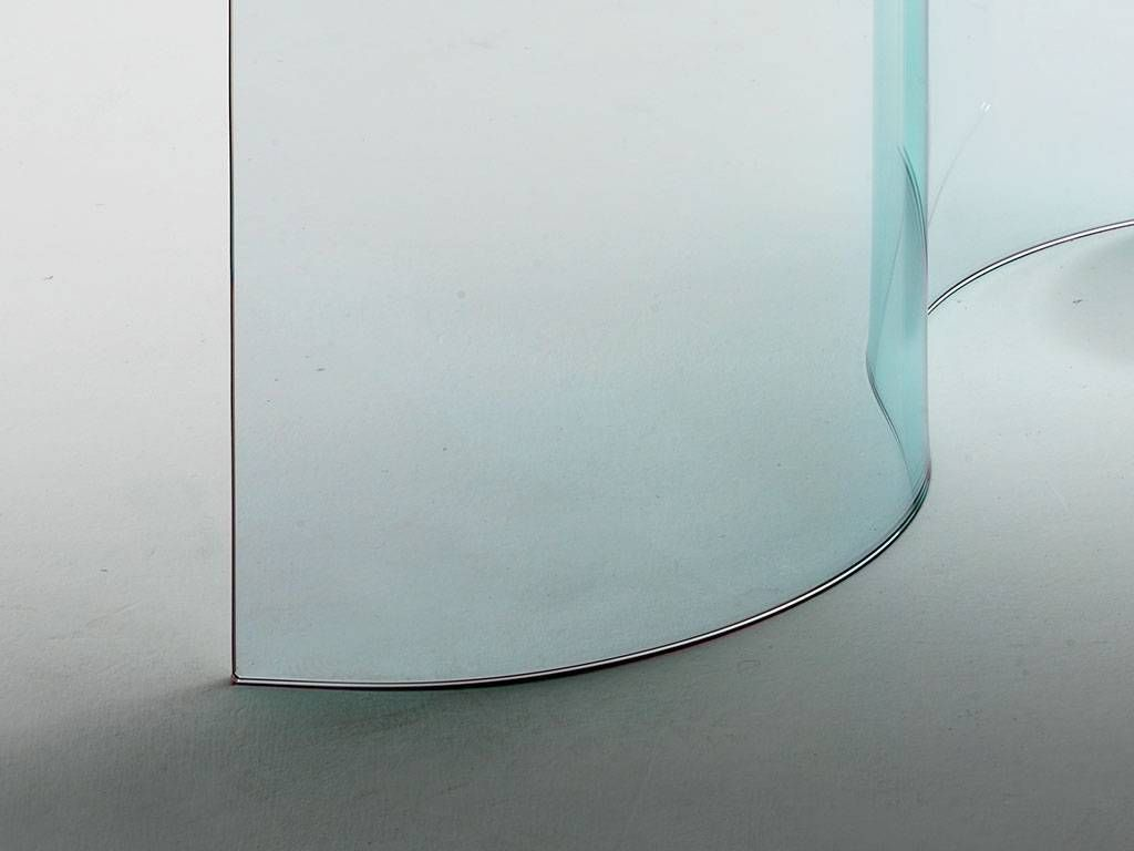 vintage kitchen table and chairs remodel cabinets consolle in curved glass mantra