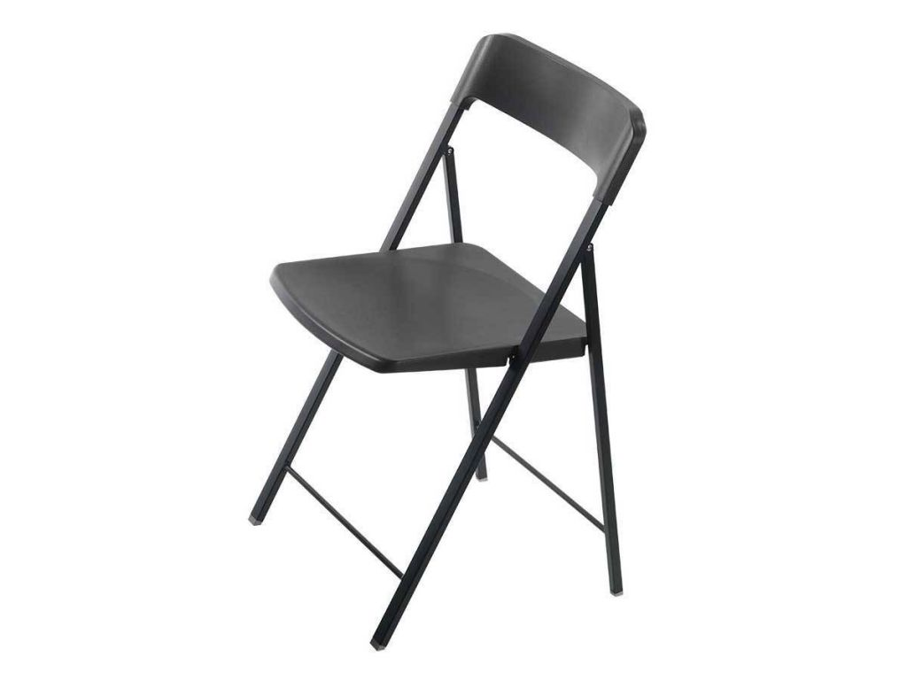 folding chair for living room theater chairs with cup holders in steel and plastic zeta