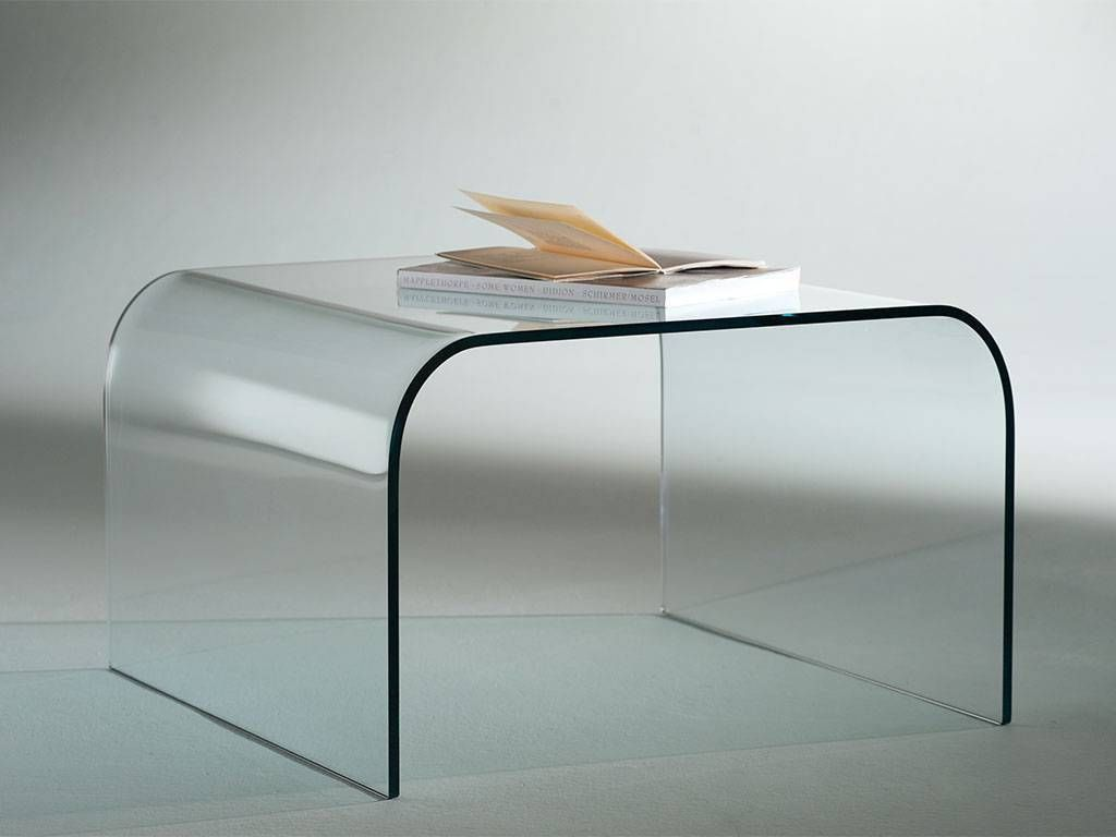 Curved crystal small table Gallery 60