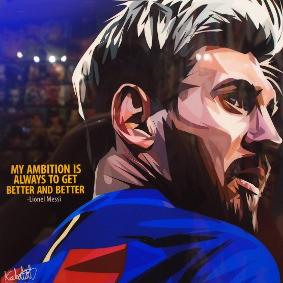 Inspirational Star Wars Quotes Wallpaper Lionel Messi Poster Quot My Ambition Is To Always