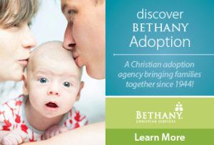 Bethany Christian Services - IAG Ad