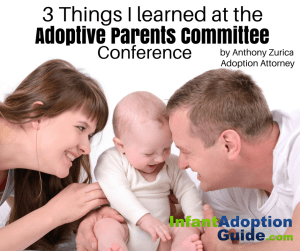 IAG post 3 things I learned at the Adoptive Parents Committee conference by Anthony Zurica