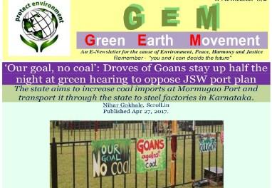 GEM/8-2-OUR GOAL NO COAL
