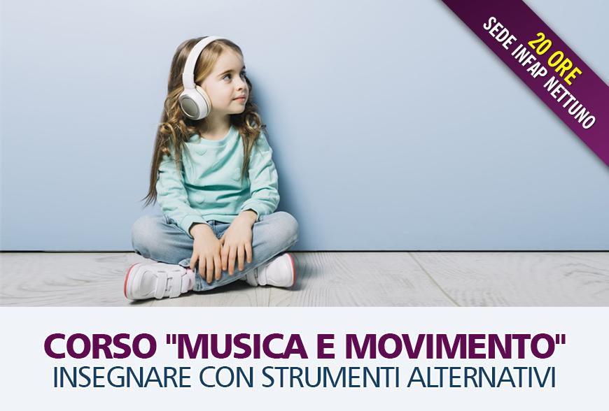 """Corso """"Musica e Movimento"""" – Insegnare con strumenti alternativi"""