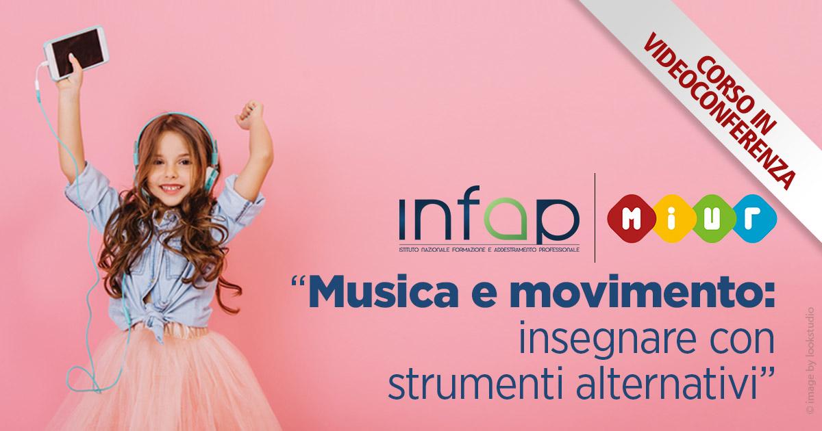 """Corso """"Musica e movimento: insegnare con strumenti alternativi"""""""
