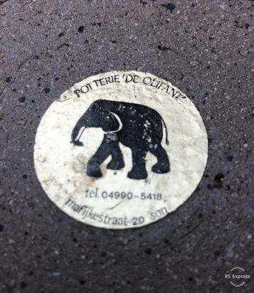 Sticker Potterie de Olifant