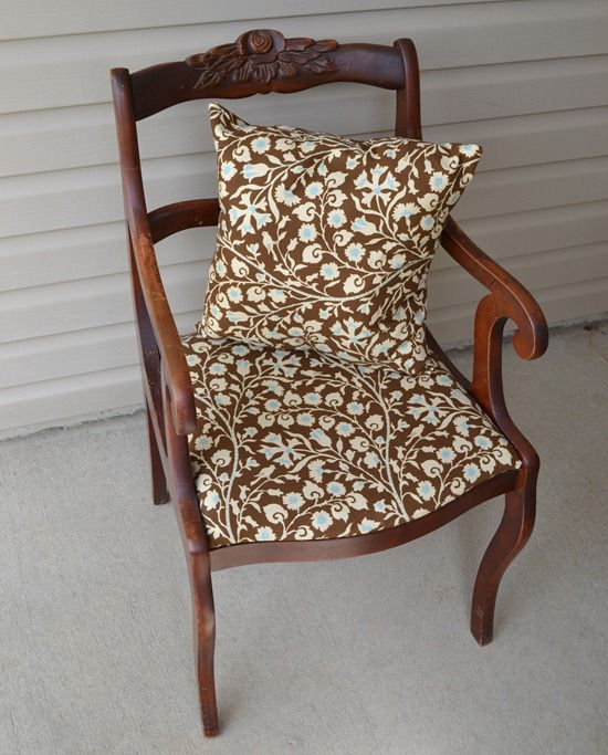 rose carved wood chair