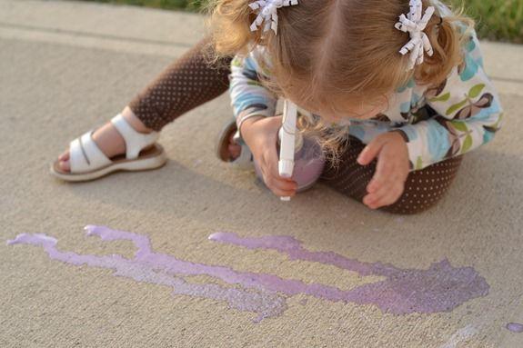 chalk spray