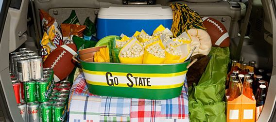 Tailgating Bin Father's Day Gift