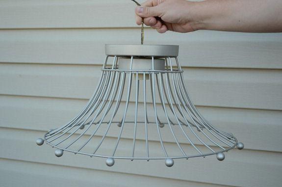 Industrial Wire Basket Light (15)