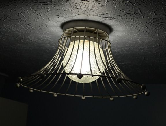 Industrial Wire Basket Light (25)