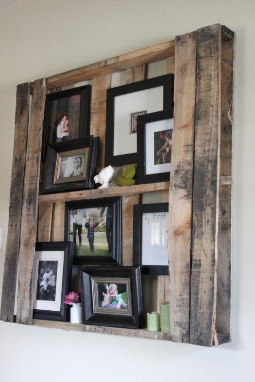 5 ways for wood pallet recycling infarrantly creative - Fabriquer etagere en bois ...