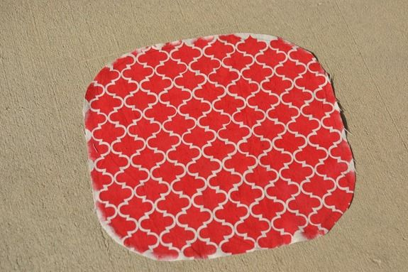 Stenciled Footstool (24)