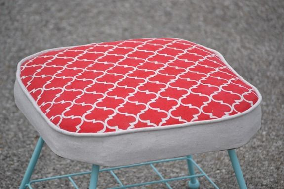 Stenciled Footstool (58)