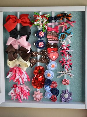 Hair Bow Holder Glitter Blasted Linky Party