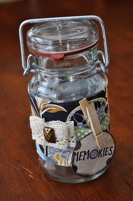 Memory Jar Infarrantly Creative