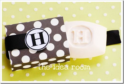 Monogrammed Hand Soap