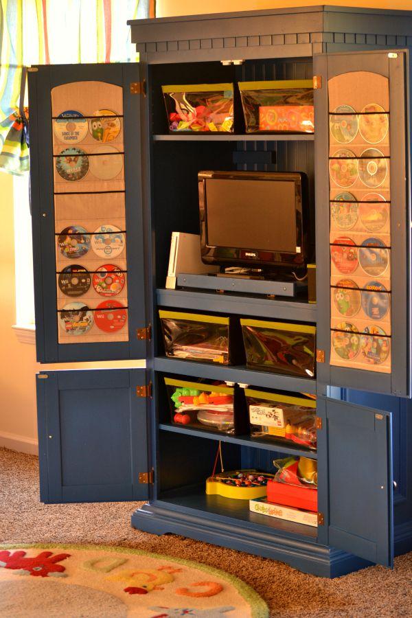 TV Cabinet Organization