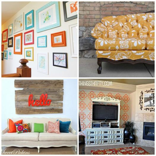 5 Ways to Decorate with the Color Orange