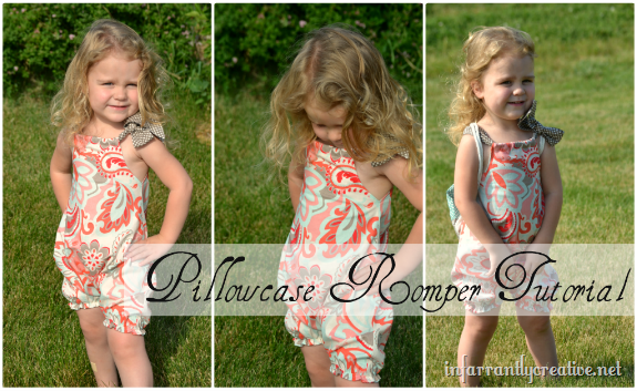 Pillow Case Romper Tutorial