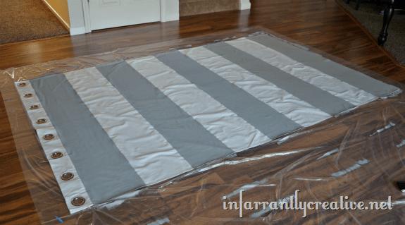 striped merete curtain