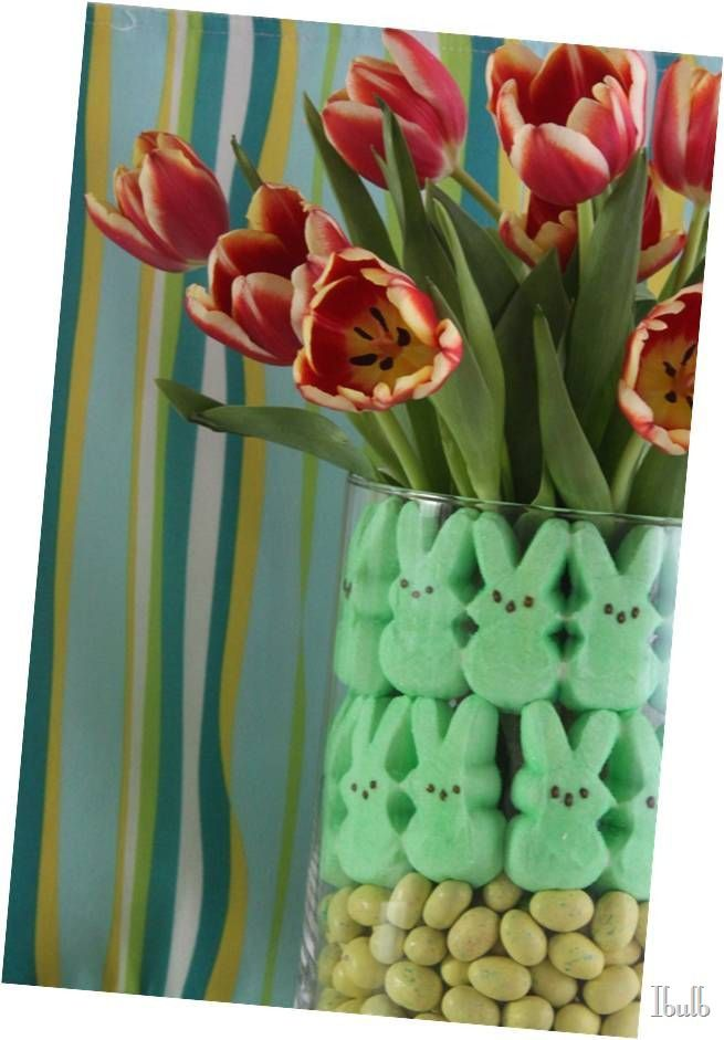 tulip easter centerpiece (1)