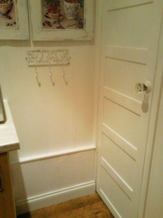 Just Paint It White panelled door