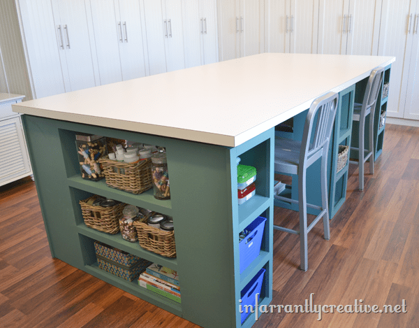 craft room table plans