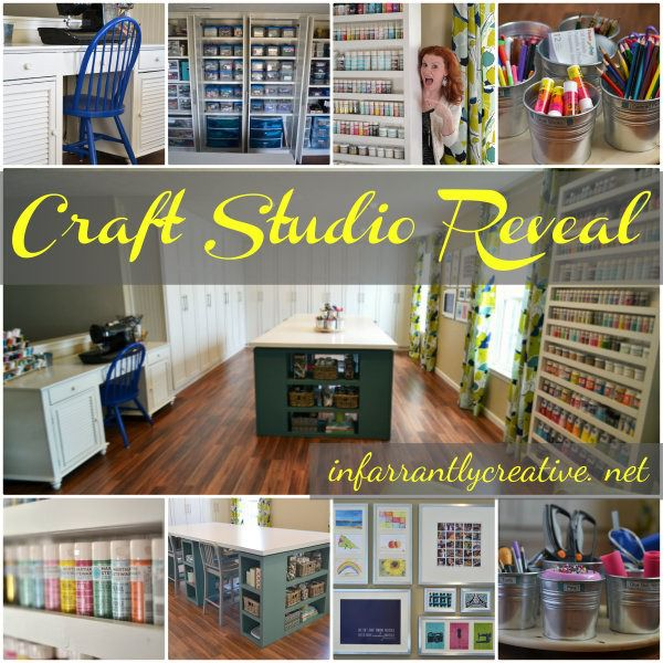 Craft Room Reveal – a look back
