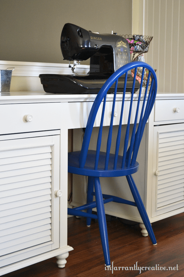 sewing table chair