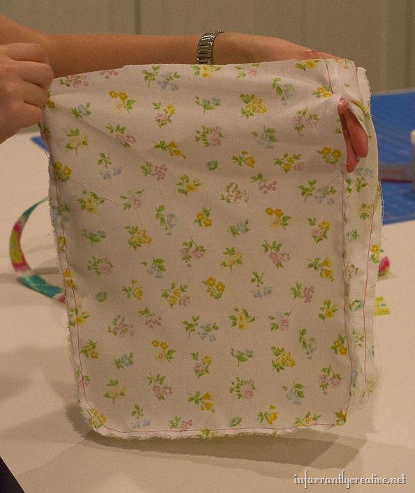 DIY Child's backpack