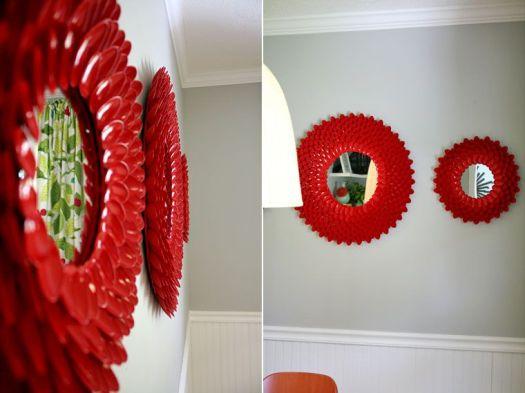 Little Things Bring Smiles chrystanthemum mirror