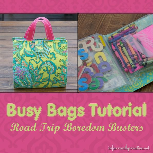 busy bag sewing pattern