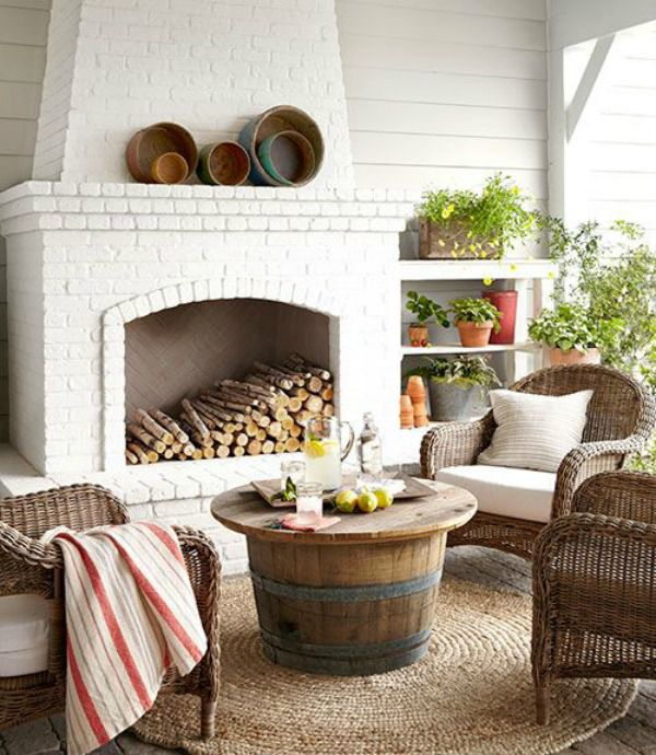 5 Ways to Get This Look:  Outdoor Living Room