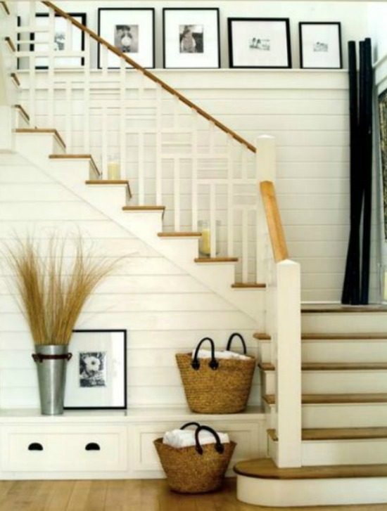 Marvelous 5 Ways To Get This Look Farmhouse Style Staircase Download Free Architecture Designs Embacsunscenecom