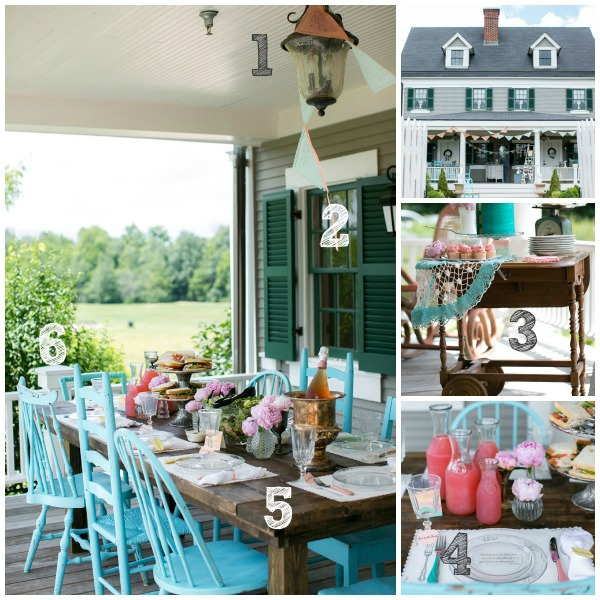Porch Party Inspiration Numbered