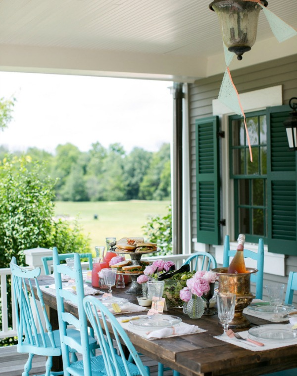 6 Ways to Get This Look:  Pretty Porch Party