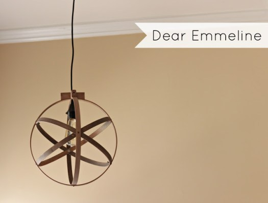 Dear Emmeline orb light