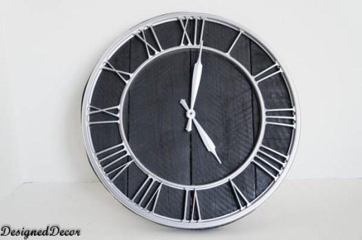 Designed Decor pallet clock