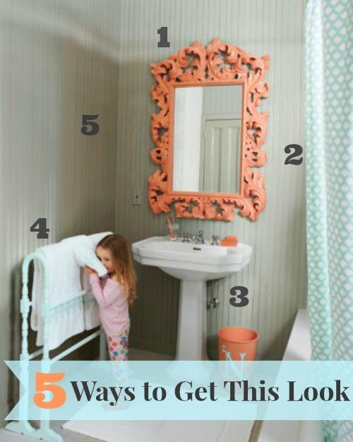 Amazing  ways coral gray bathroom