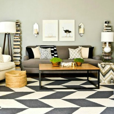 5 Ways to Get This Look:  Modern Living Room