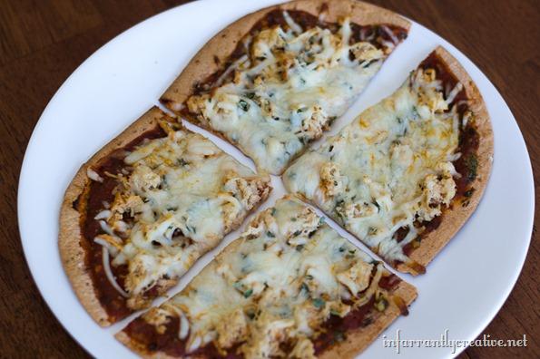healthy flatbread pizza recipe