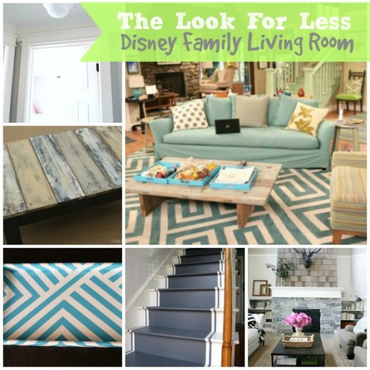 5 Ways to Get This Look:  Disney Family Living Room