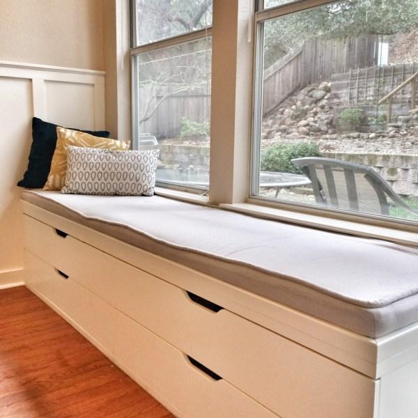 IKEA Window Bench Seat with Storage
