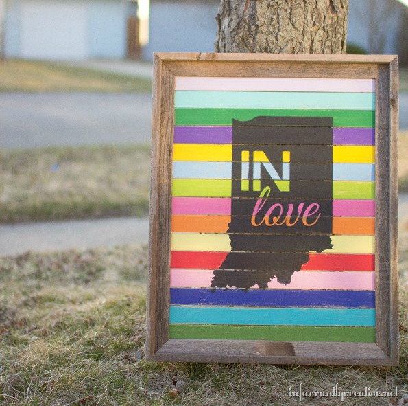 indiana soy bean paint project