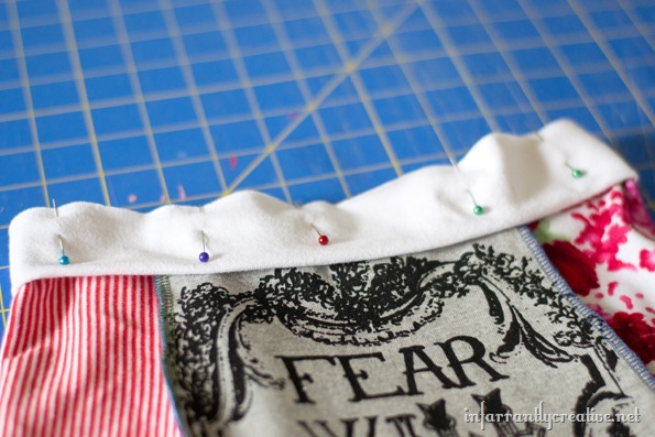 DIY knit skirt tutorial